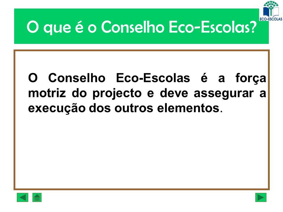 O que é o Conselho Eco-Escolas