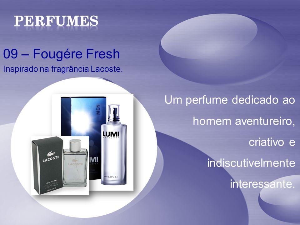 Perfumes 09 – Fougére Fresh