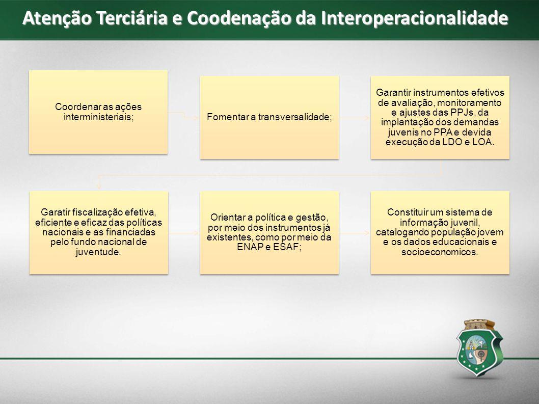 Atenção Terciária e Coodenação da Interoperacionalidade