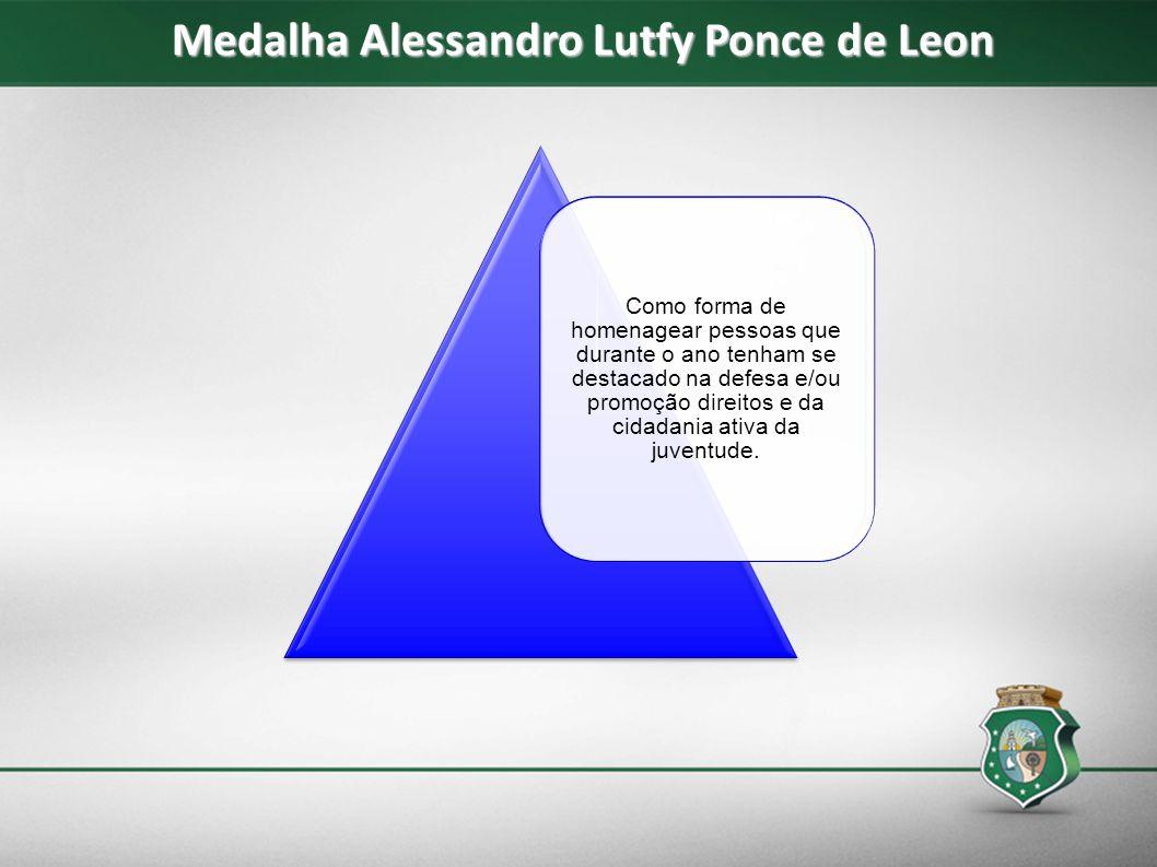 Medalha Alessandro Lutfy Ponce de Leon