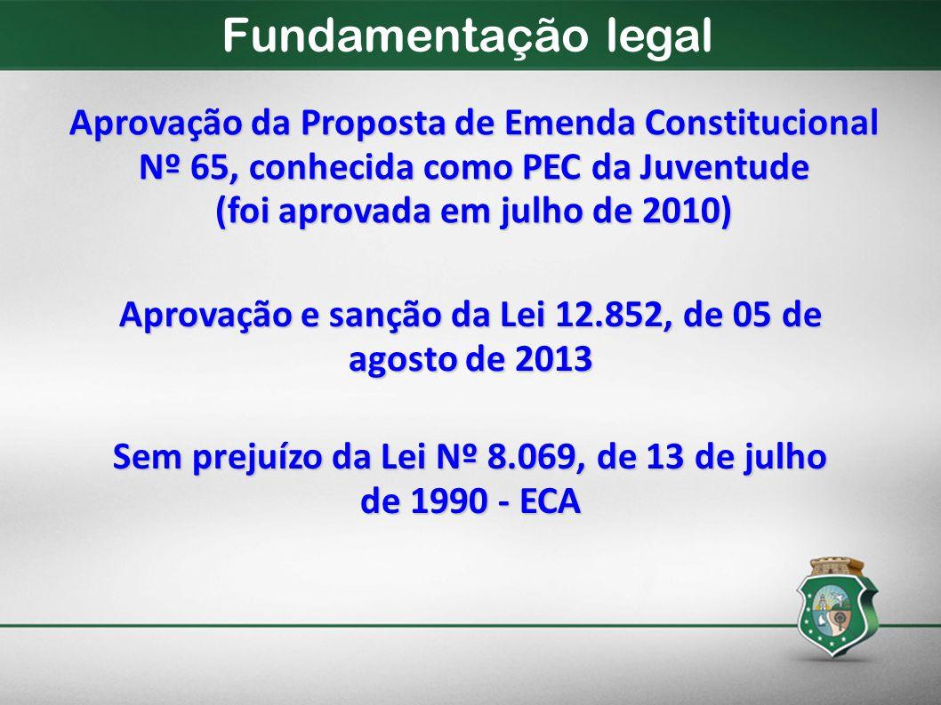 Fundamentação legal Aprovação da Proposta de Emenda Constitucional