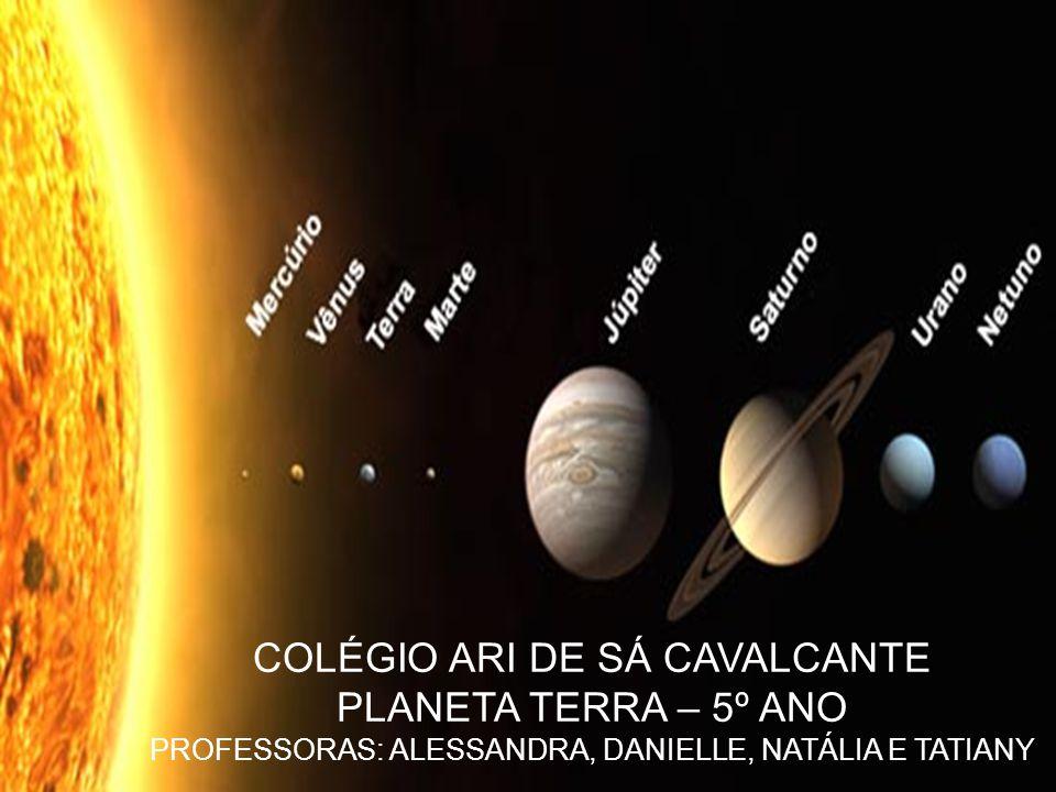 COLÉGIO ARI DE SÁ CAVALCANTE PLANETA TERRA – 5º ANO