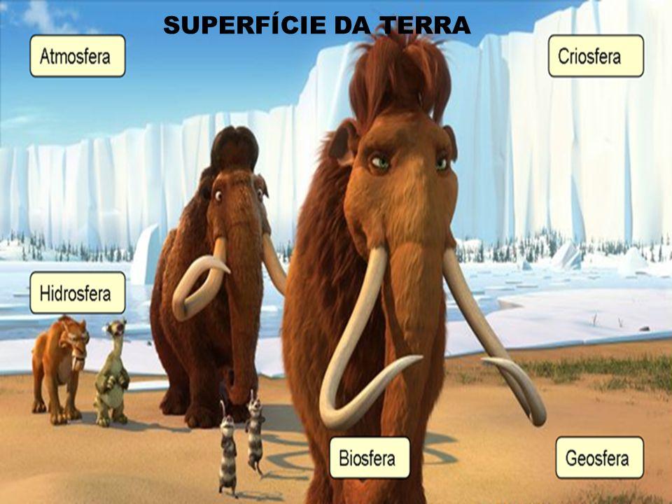 SUPERFÍCIE DA TERRA