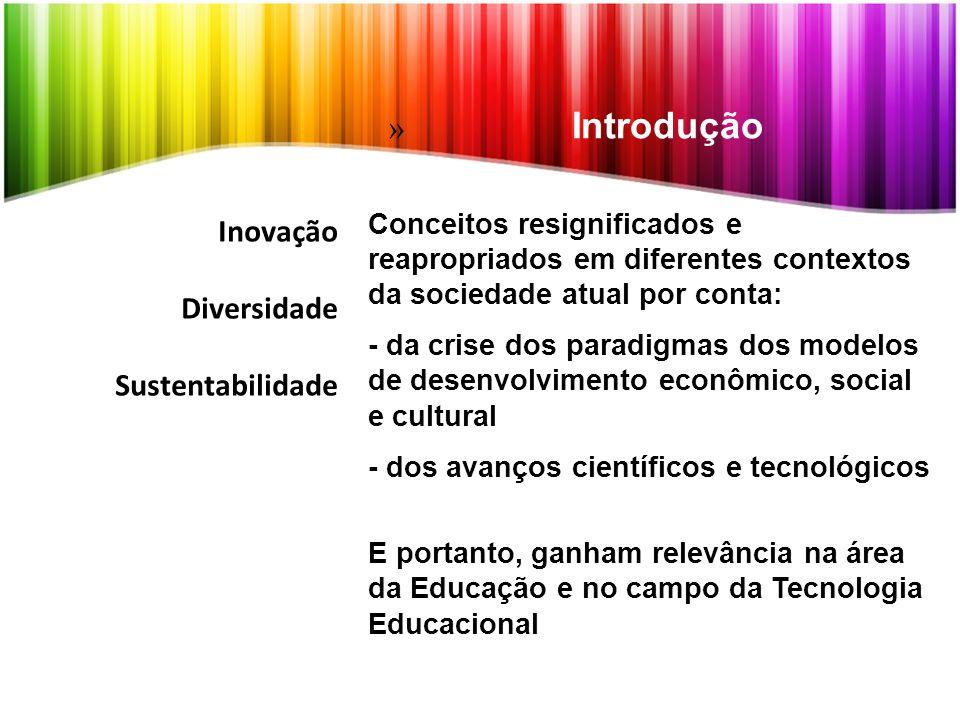 Introdução Inovação Diversidade Sustentabilidade