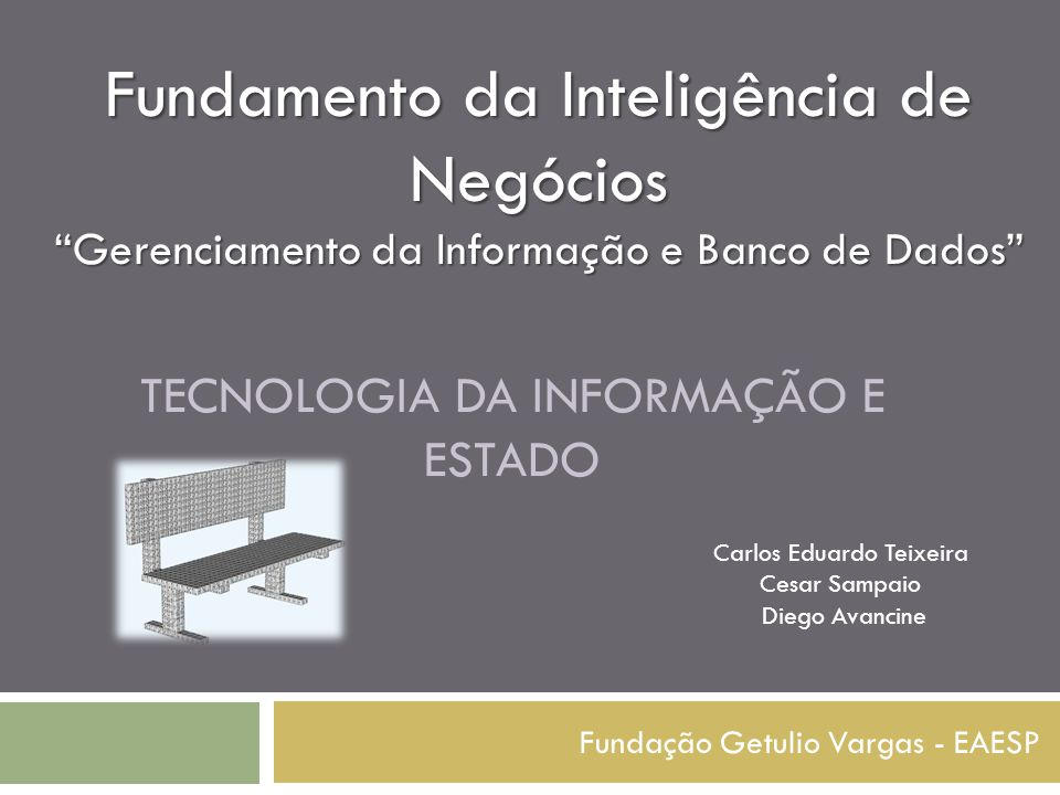 Tecnologia da informação e estado