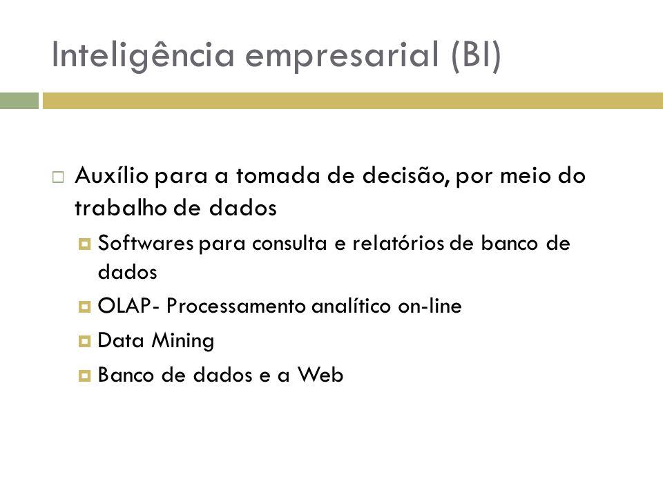 Inteligência empresarial (BI)