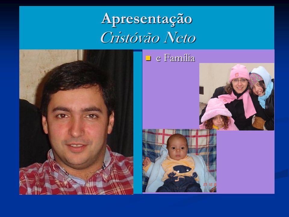 Apresentação Cristóvão Neto