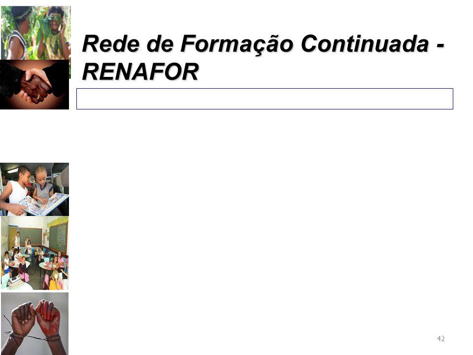 Rede de Formação Continuada - RENAFOR