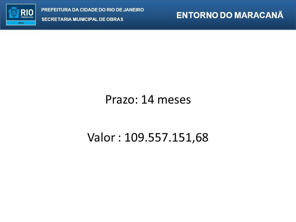 Prazo: 14 meses Valor : 109.557.151,68