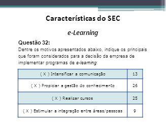 Características do SEC