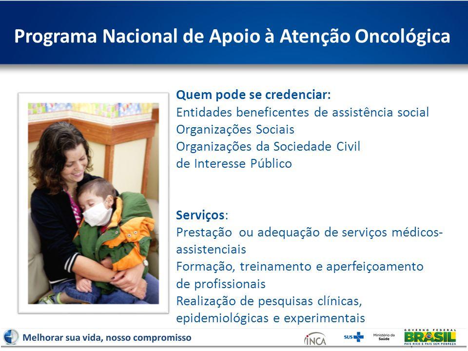 Programa Nacional de Apoio à Atenção Oncológica