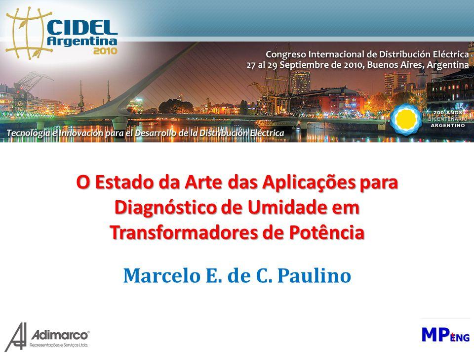 O Estado da Arte das Aplicações para Diagnóstico de Umidade em Transformadores de Potência