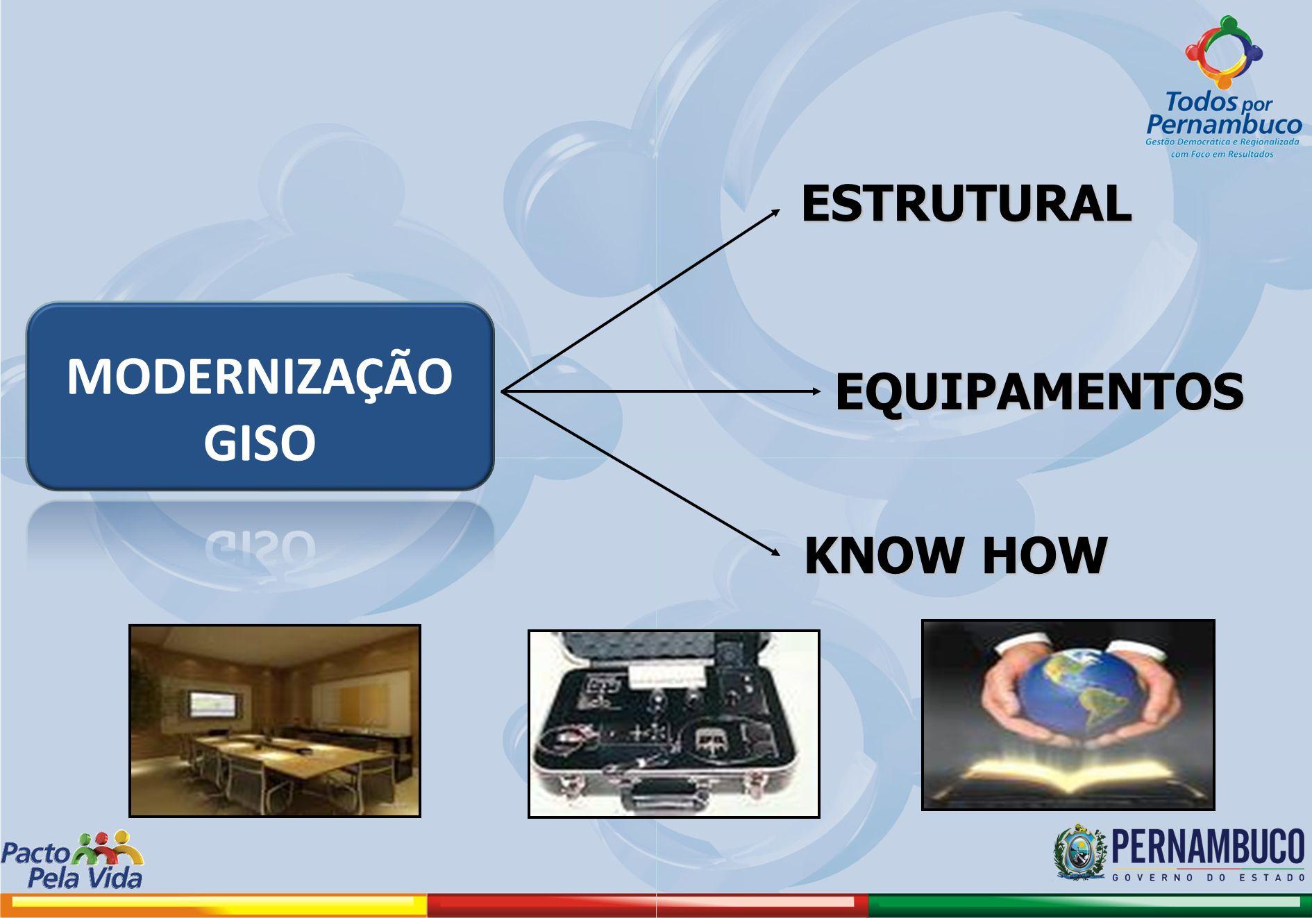 ESTRUTURAL MODERNIZAÇÃO GISO EQUIPAMENTOS KNOW HOW