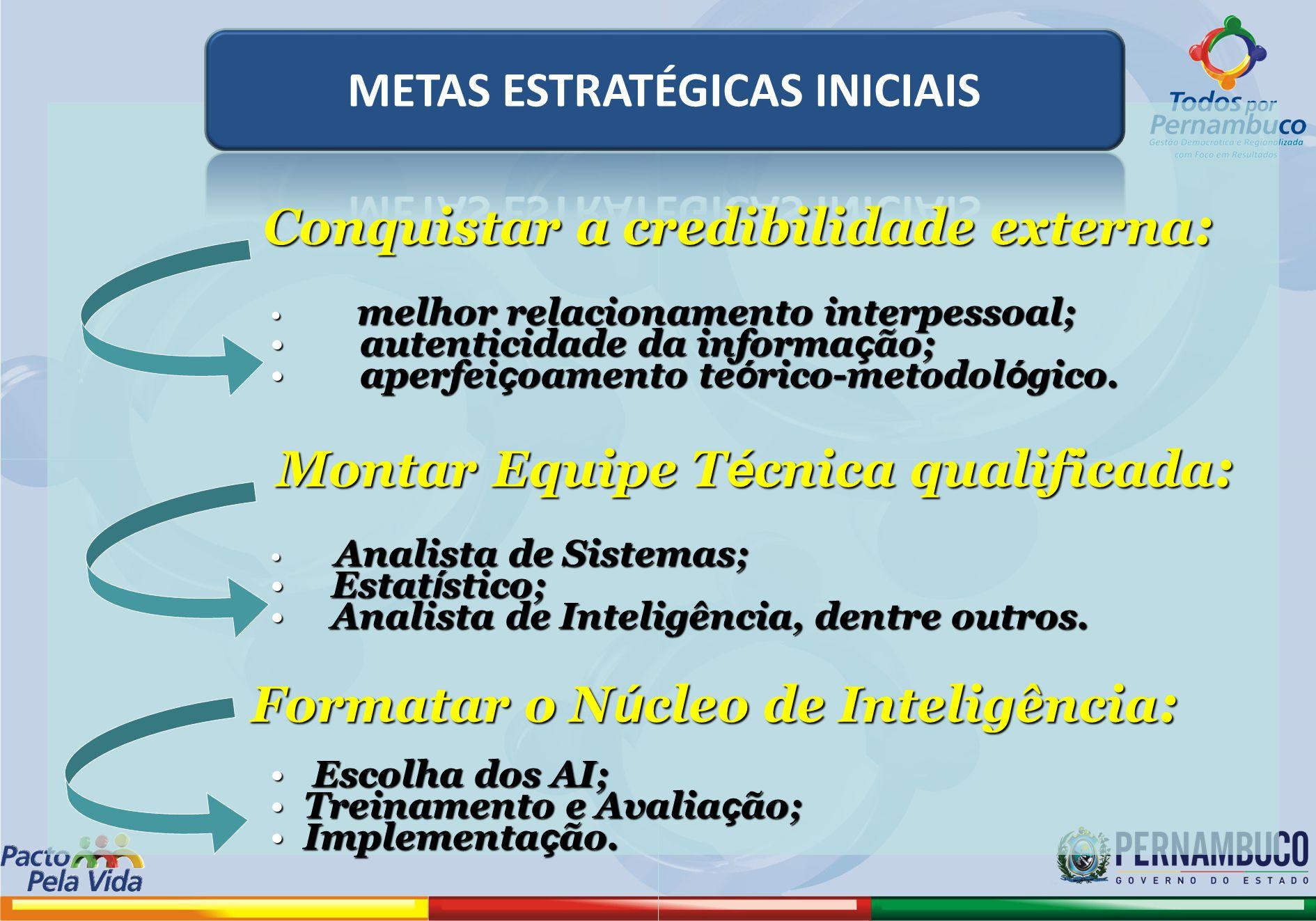 METAS ESTRATÉGICAS INICIAIS