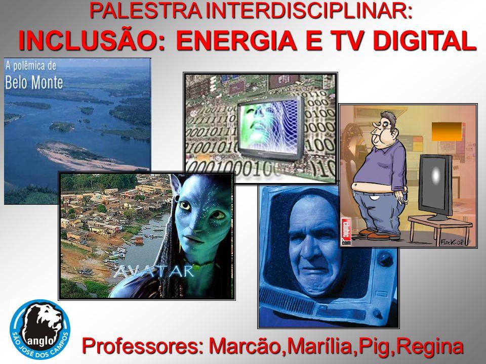 INCLUSÃO: ENERGIA E TV DIGITAL