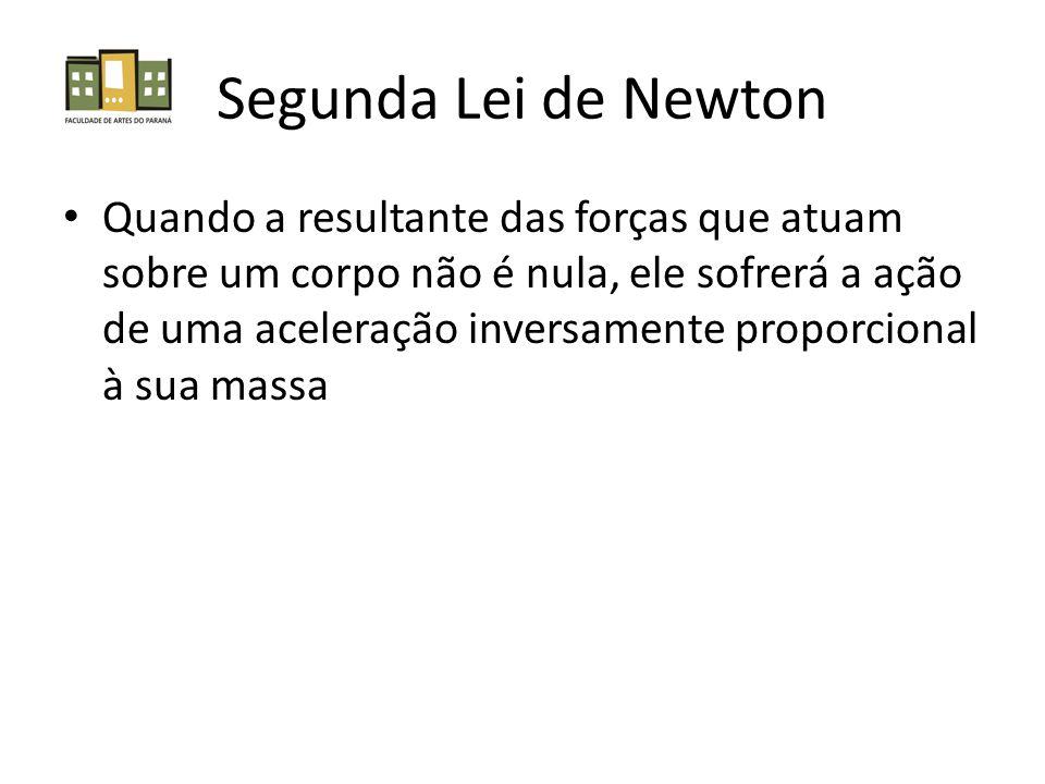 Segunda Lei de Newton