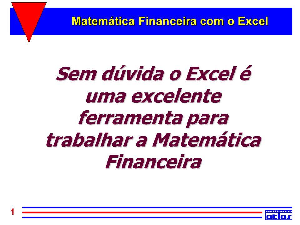 Matemática Financeira com o Excel