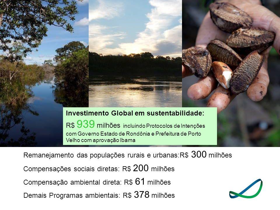 Investimento Global em sustentabilidade: