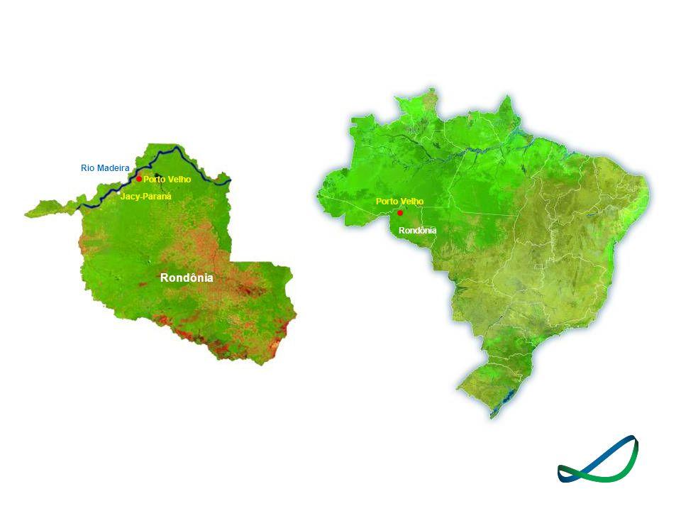 Rio Madeira Porto Velho Jacy-Paraná Porto Velho Rondônia Rondônia