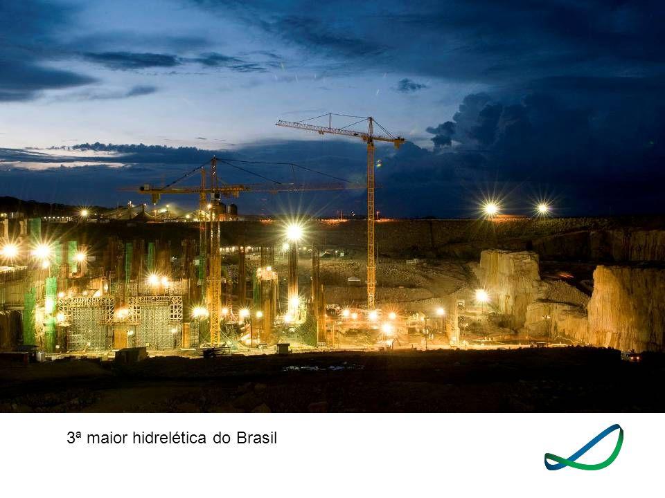 3ª maior hidrelética do Brasil