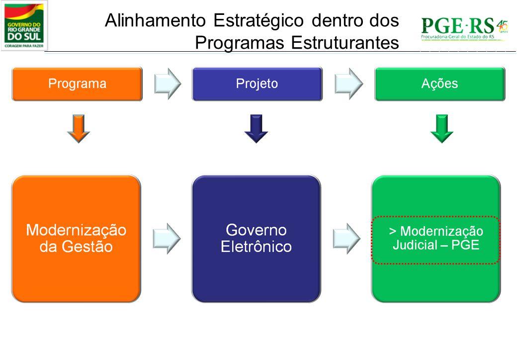 Alinhamento Estratégico dentro dos Programas Estruturantes