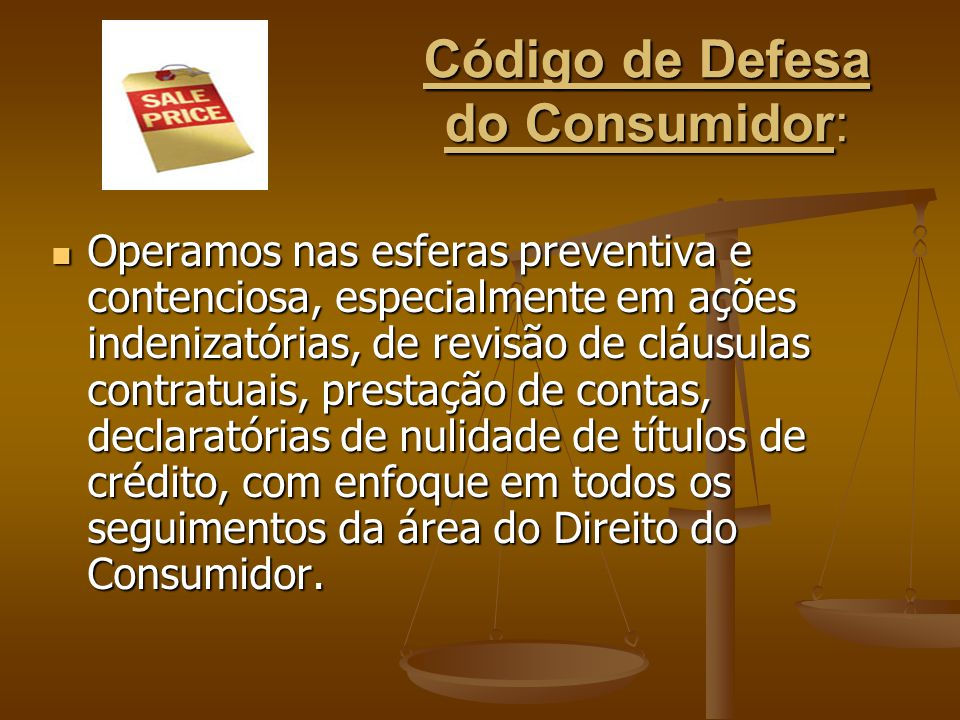 Código de Defesa do Consumidor: