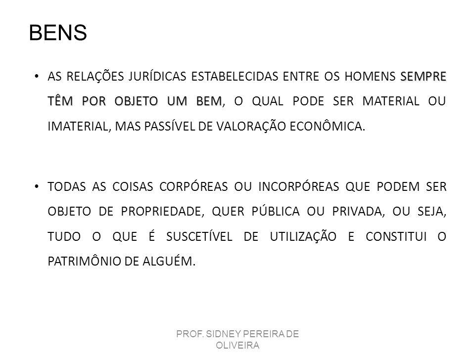 PROF. SIDNEY PEREIRA DE OLIVEIRA