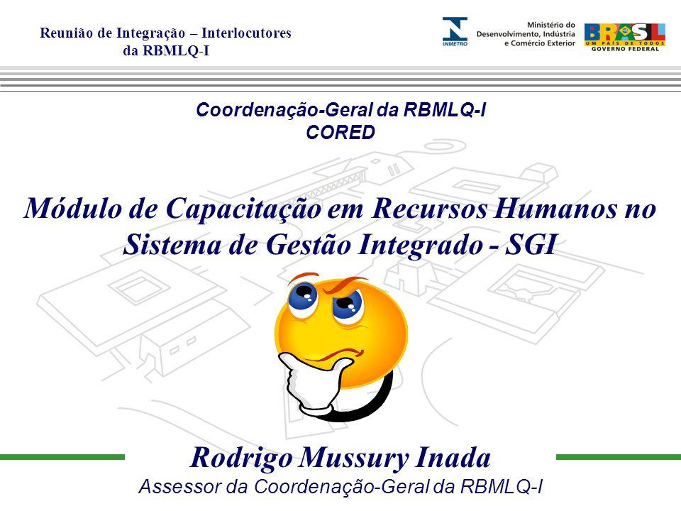 Coordenação-Geral da RBMLQ-I