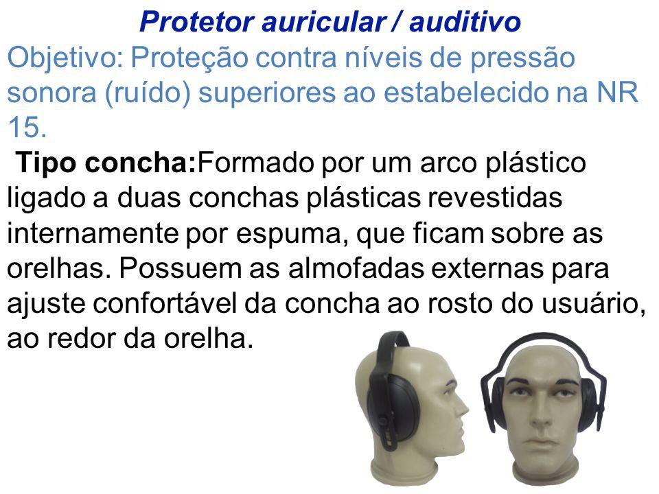 Protetor auricular / auditivo