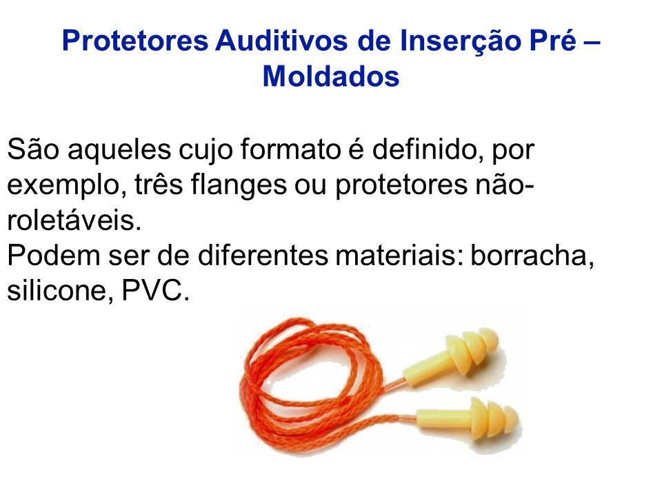 Protetores Auditivos de Inserção Pré – Moldados