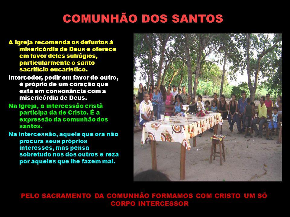 COMUNHÃO DOS SANTOS