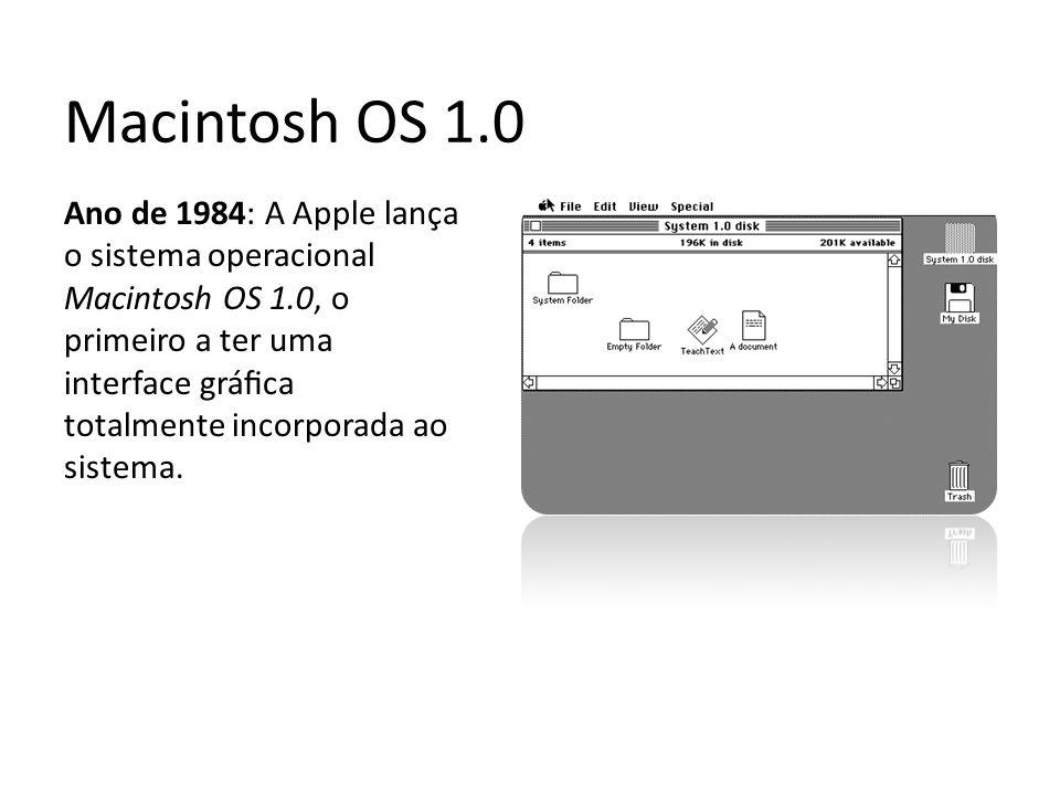 Macintosh OS 1.0