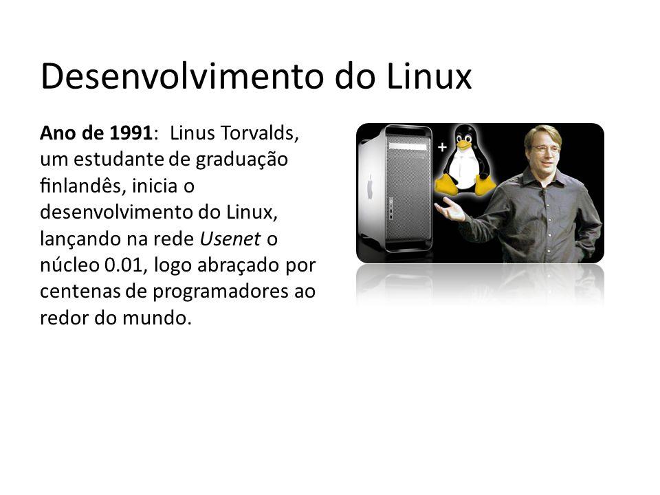 Desenvolvimento do Linux