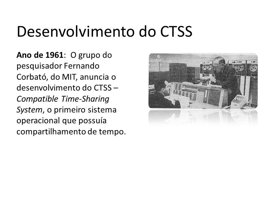 Desenvolvimento do CTSS