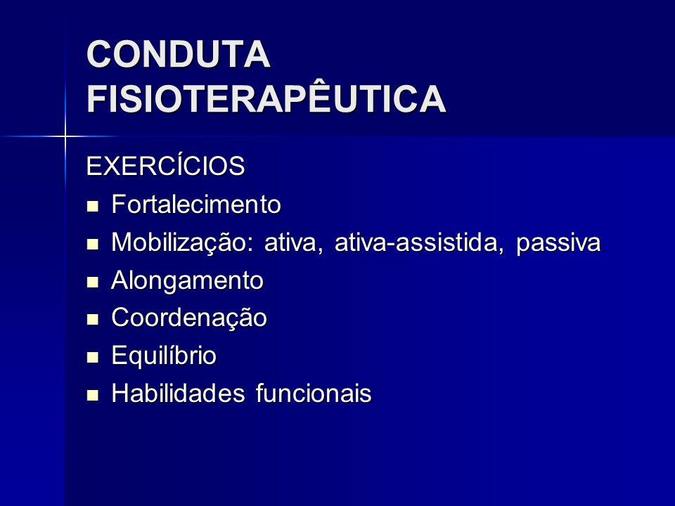 CONDUTA FISIOTERAPÊUTICA