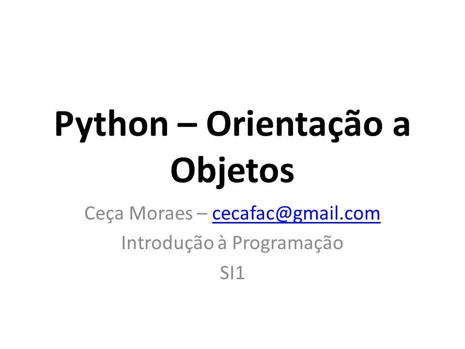 Python – Orientação a Objetos