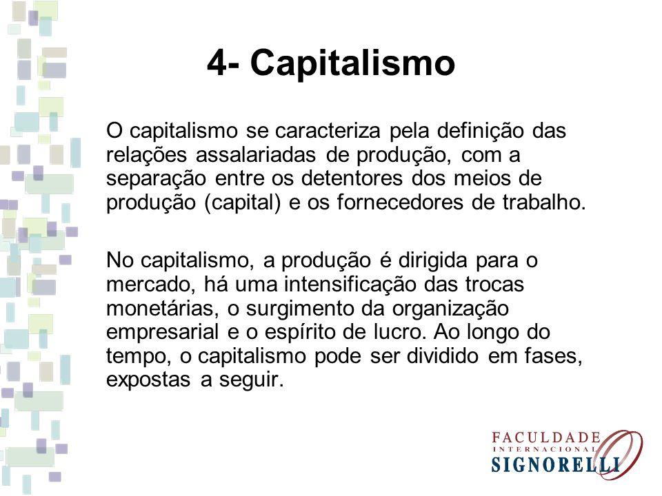 4- Capitalismo