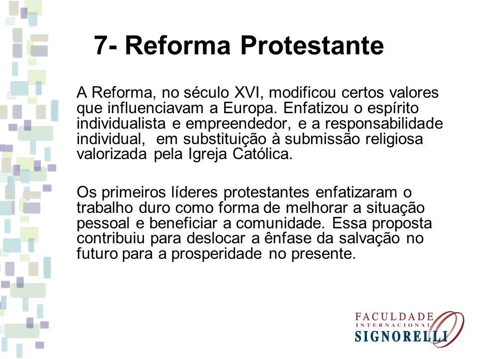 7- Reforma Protestante