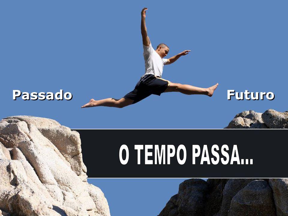 Passado Futuro O TEMPO PASSA...