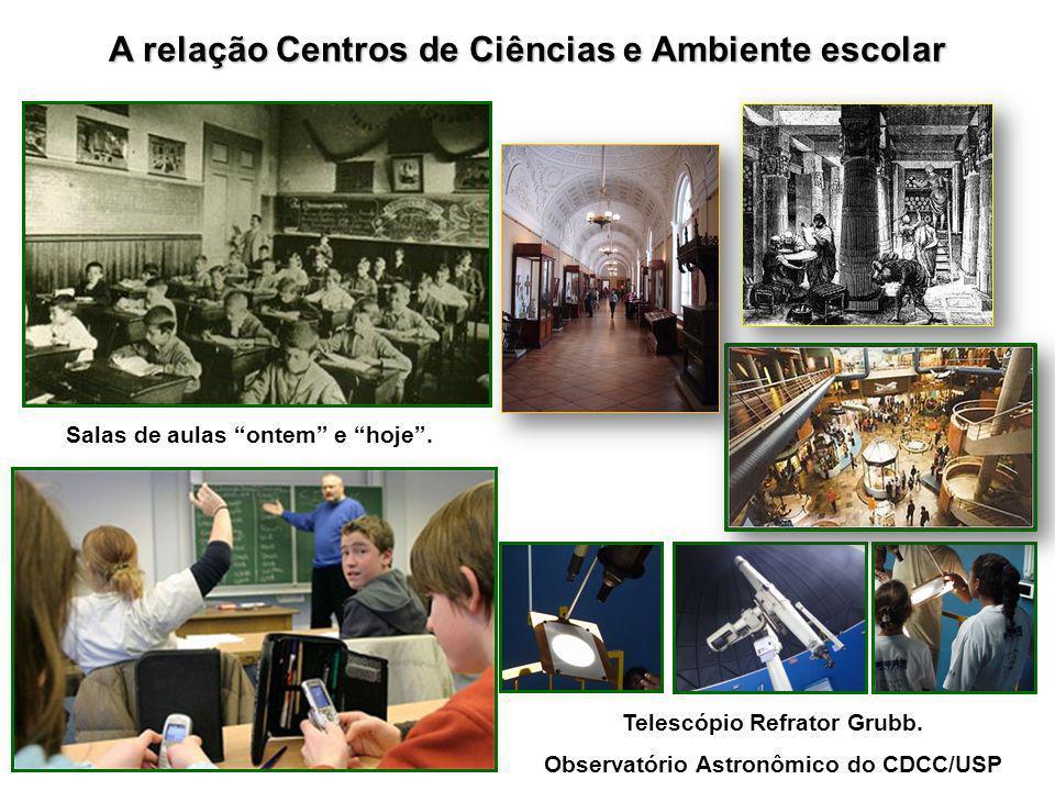 A relação Centros de Ciências e Ambiente escolar