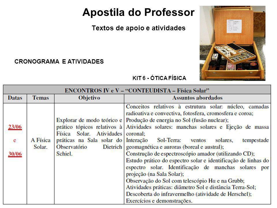 Apostila do Professor Textos de apoio e atividades