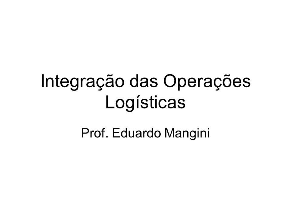 Integração das Operações Logísticas