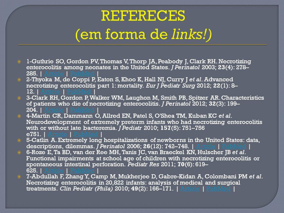 REFERECES (em forma de links!)