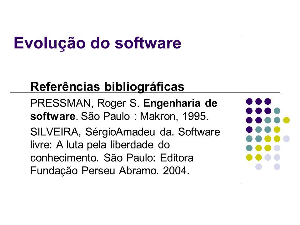 Evolução do software Referências bibliográficas