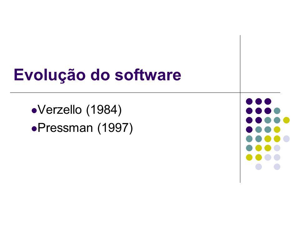 Verzello (1984) Pressman (1997)