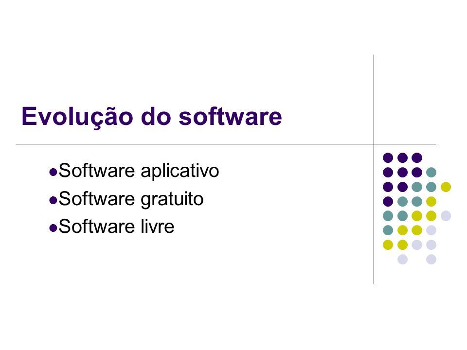 Software aplicativo Software gratuito Software livre