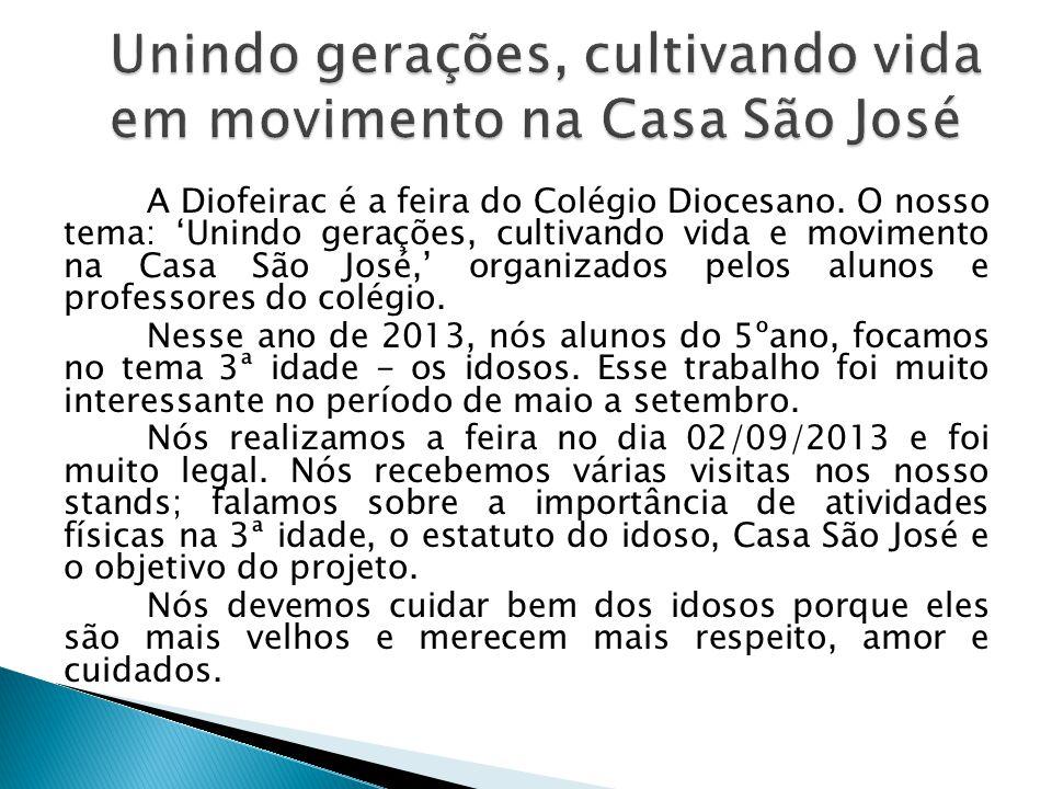 Unindo gerações, cultivando vida em movimento na Casa São José