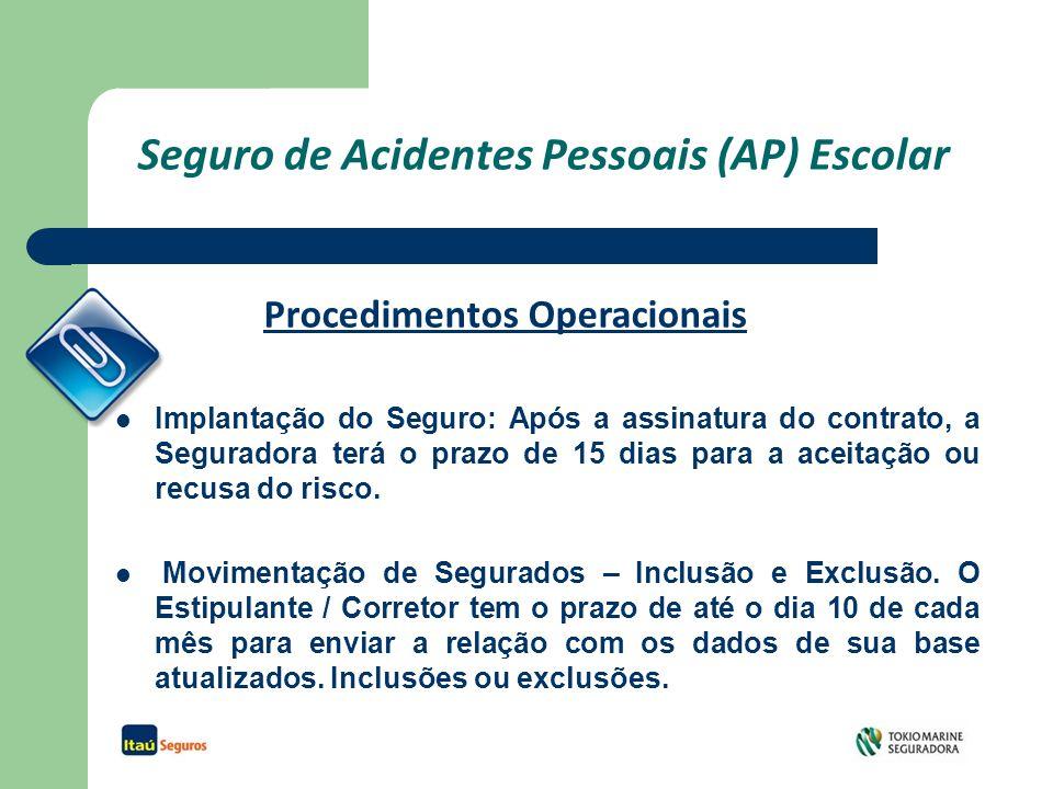 Seguro de Acidentes Pessoais (AP) Escolar