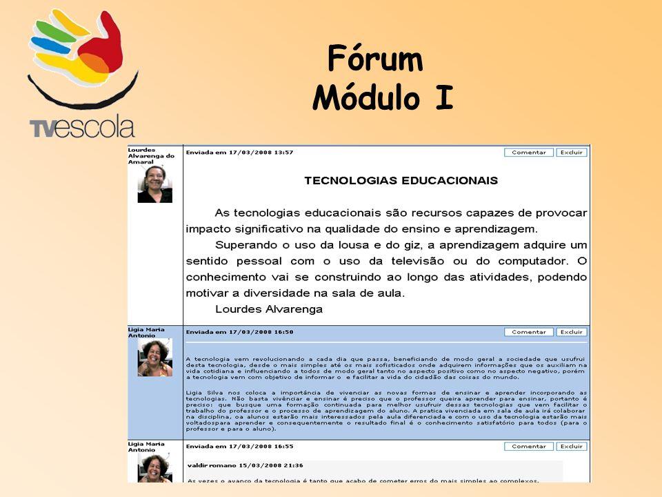 Fórum Módulo I