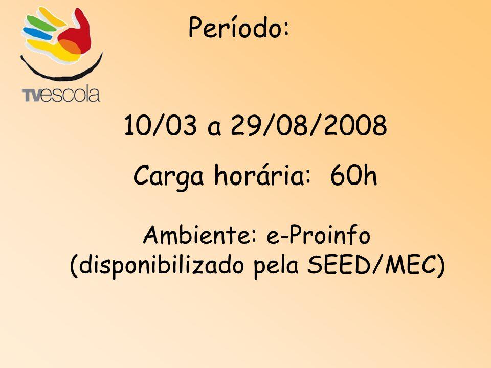 (disponibilizado pela SEED/MEC)